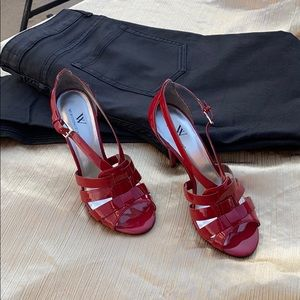 dressy red heels